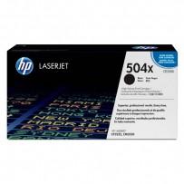 HP originální toner CE250X, black, 10500str., HP 504X, HP Color LaserJet CP3525