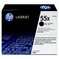 HP originální toner CE255X, black, 12500str., HP 55X, HP LaserJet P3015, LaserJet Pro 500 MFP M521dn