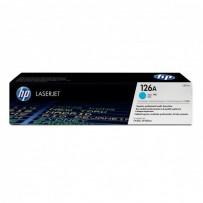 HP originální toner CE311A, cyan, 1000str., HP 126A, HP LaserJet Pro CP1025, 1025nw, MFP M175