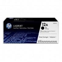 HP originální toner Q2612AD, black, 4000 (2x2000)str., HP 12A, HP LaserJet 1010, 1012, 1015, 1020, 1022, 3015, 3020, Dual pac...