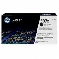HP originální toner CE400X, black, 11000str., HP 507X, HP LaserJet Enterprise 500 color M551