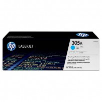 HP originální toner CE411A, cyan, 2600str., HP 305A, HP Color LaserJet Pro M375NW, Pro M475DN, M451dn