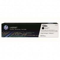 HP originální toner CE310AD, black, 1200str., HP 126A, HP LaserJet Pro CP1025, Dual pack, 1000g, 2ks