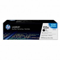 HP originální toner CB540AD, black, 2200str., HP 125A, HP Color LaserJet CP1215, 1515, 1518, Dual pack, 2ks