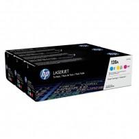 HP originální toner CF371AM, CMY, 3900 (3x1300)str., HP 128A, HP LaserJet+, N, 3x800g, 3ks