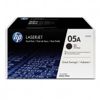HP originální toner CE505D, black, 2x2300str., HP 05A, HP LaserJet P2035, 2055, 2ks