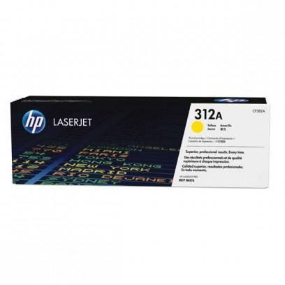 Toner HP CF382A, HP 312A žlutý