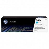 HP originální toner CF401X, cyan, 2300str., HP 201X, HP Color LaserJet MFP 277, Pro M252, 770g