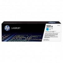 HP originální toner CF401A, cyan, 1330str., HP 201A, HP Color LaserJet MFP 277, Pro M252,Pro MFP M274n, 750g