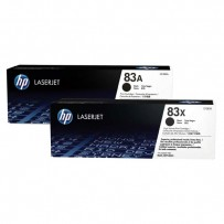 HP originální toner CF283AD, black, 2x1500str., HP 83A, HP LJ Pro M201dw,M201n,MFP M125a,MFP M125nrw, Dual pack, 1240g, 2ks