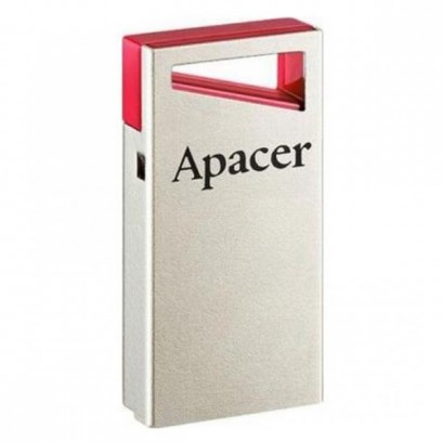 Apacer USB flash disk, 2.0, 16GB, AH112, stříbrný, AP16GAH112R-1