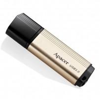 Apacer USB flash disk, 3.0, 16GB, AH353, zlatý, AP16GAH353C-1, s krytkou