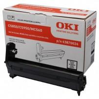 OKI originální válec 43870024, black, 20000str., OKI C5850, 5950, MC560, MC560n, MC560dn
