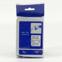 Master tape kompatibilní páska do tiskárny štítků, pro Brother, PT-S441, černý tisk/červený podklad, nelaminovaná, 8m, 18mm