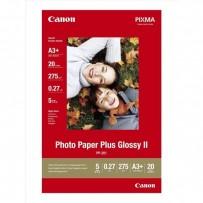 """Canon Photo Paper Plus Glossy, foto papír, lesklý, bílý, A3+, 13x19"""", 275 g/m2, 20 ks, PP-201 A3+, inkoustový"""