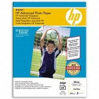 "HP Advanced Glossy Photo Paper, foto papír, lesklý, zdokonalený, bílý, 13x18cm, 5x7"", 250 g/m2, 25 ks, Q8696A, inkoustový,bez..."