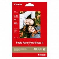 "Canon Photo Paper Plus Glossy, foto papír, lesklý, bílý, 13x18cm, 5x7"", 275 g/m2, 20 ks, PP-201 5x7, inkoustový"
