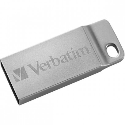 Verbatim USB flash disk, 2.0, 32GB, Store,N,Go Metal Executive, stříbrný, 98749