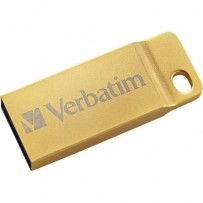Verbatim USB flash disk, 3.0, 32GB, Store,N,Go Metal Executive, zlatý, 99105