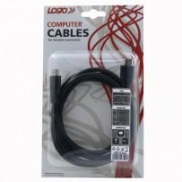 Kabel HDMI M- HDMI M, High Speed, 2m, černý