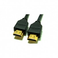 Kabel HDMI M- HDMI M, High Speed, 2m, zlacené konektory, černá