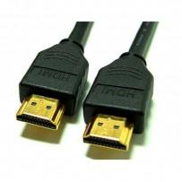 Kabel HDMI M- HDMI M, High Speed, 3m, zlacené konektory, černá