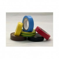 Izolační páska, 0,13x19mm, červená, 10m