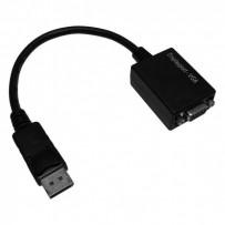 Video Redukce, DisplayPort M-VGA (D-Sub) F, 0, černá