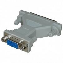 Myš Redukce, sériový port, 25 pin M-9 pin F, 0, šedá, Logo