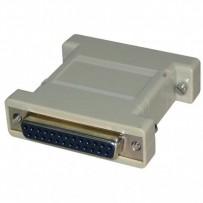 PC Redukce, paralelní port, 25 pin F-25 pin F, 0, šedá, Logo