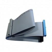 Kabel k hardisku datový ATA 100, ATA M- ATA 3x F, 0.62m, 80 žil, ATA100, šedý, Logo