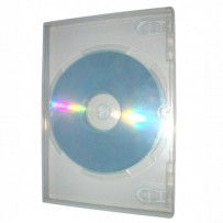 Box na 1 ks DVD, super clear, 14mm