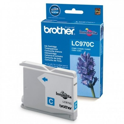 Brother originální ink LC-970C, cyan, 300str., Brother DCP-135C, 150C, MFC-235C, 260C