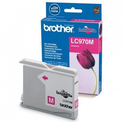 Brother originální ink LC-970M, magenta, 300str., Brother DCP-135C, 150C, MFC-235C, 260C