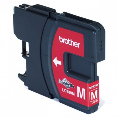 Brother originální ink LC-980M, magenta, 260str., Brother DCP-145C, 165C