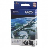 Brother originální ink LC-985BK, black, 300str., Brother DCP-J315W