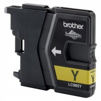 Brother originální ink LC-985Y, yellow, 260str., Brother DCP-J315W