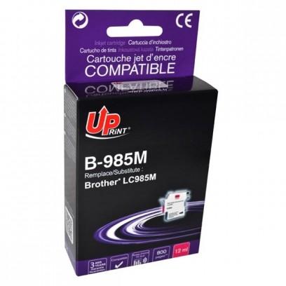 Kompatibilní Brother LC-985M červená