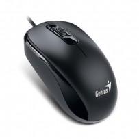 Genius Myš DX-110, 1000DPI, optická, 3tl., 1 kolečko, drátová (PS/2), černá