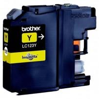 Brother LC-123Y žlutá