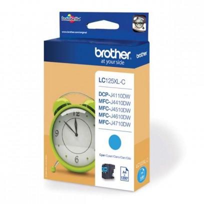 Brother LC-125XL-C modrá